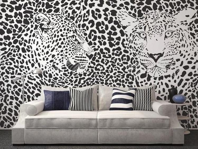 Black and White Minimalist Decals