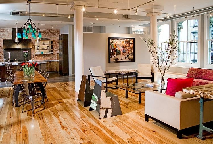 Tribeca Loft by Threshold Interiors