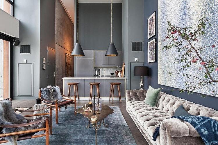Bon Contemporary Apartment In Brooklyn
