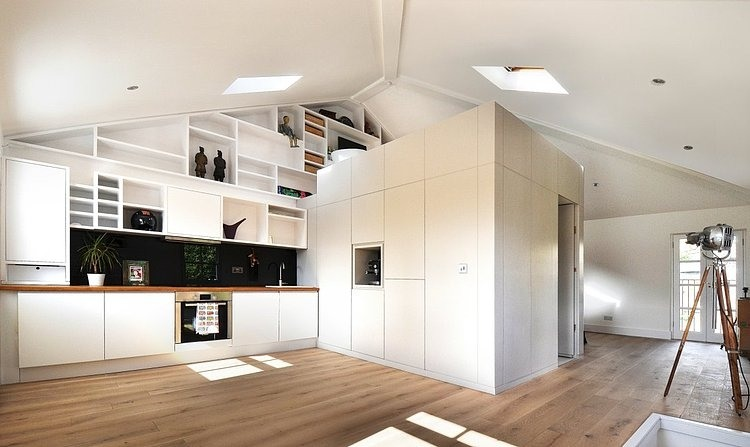 modern loft in camdencraft design | homeadore