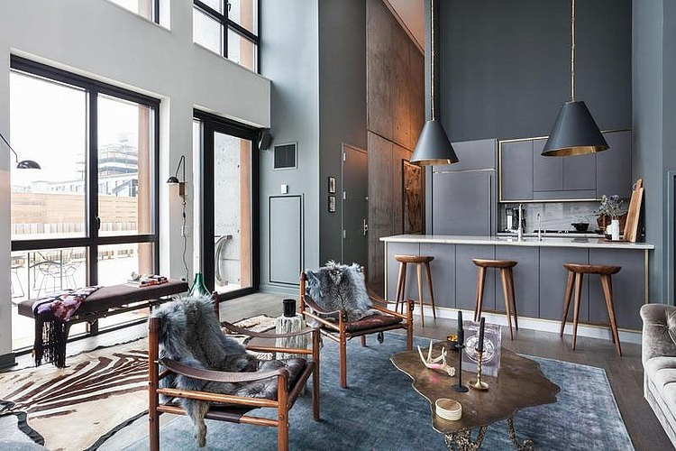 Apartment Einrichtung contemporary apartment in york homeadore