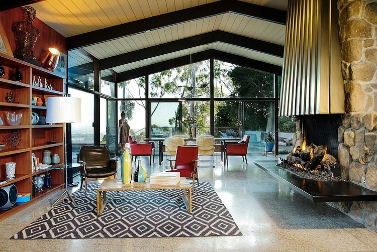 Merveilleux Mid Century House By Native Son Design Studio