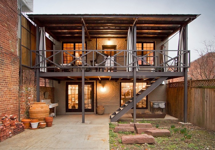 Carriage House Renovation by Bennett Frank McCarthy Architects