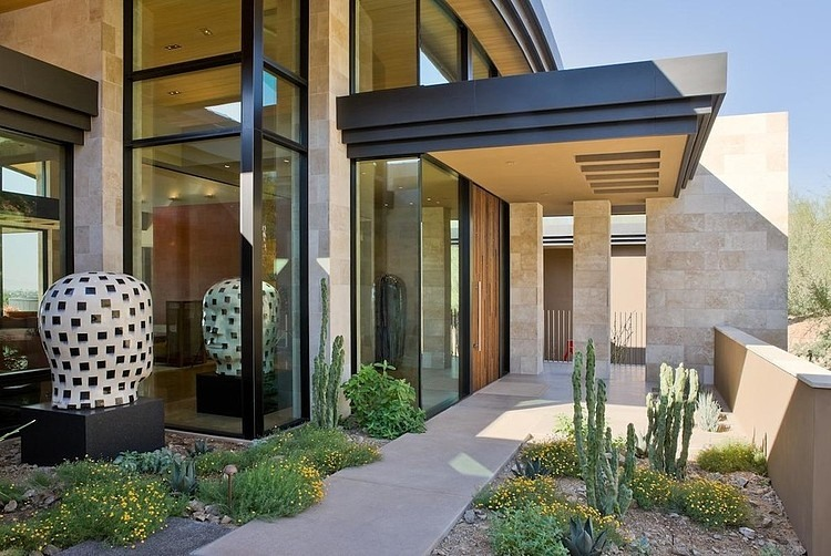 Paradise Valley Residence By Elizabeth A Rosensteel Design Studio