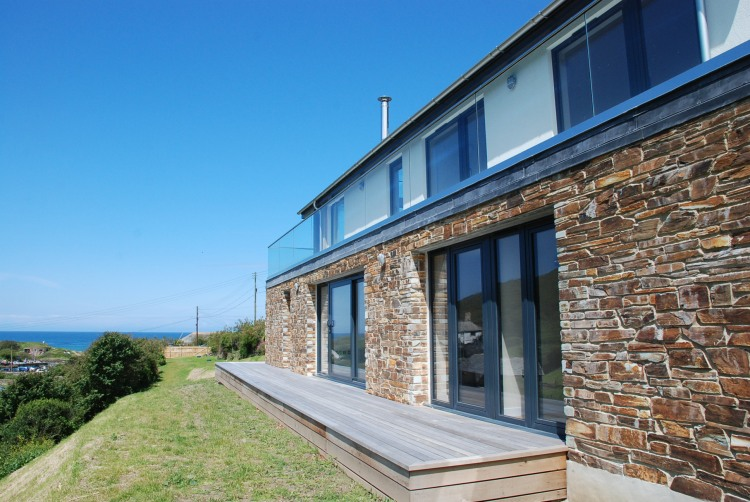 Lugana Beach inspired home on the Cornwall Coast