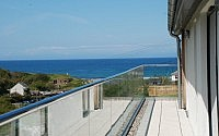 Balcony view Contemporary Home Cornwall