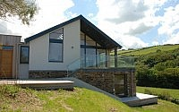 Exterior view Contemporary Home Cornwall
