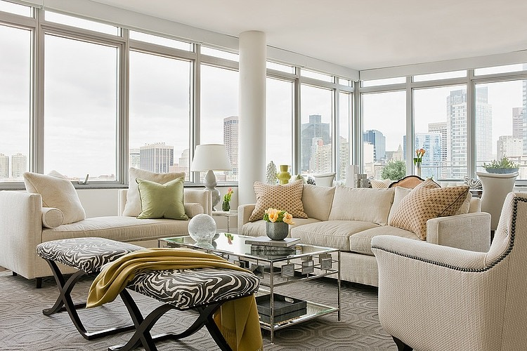 Downtown Boston Penthouse by Lovejoy Designs « HomeAdore
