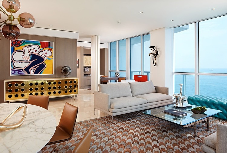 Miami Beach Residence By Allen Saunders