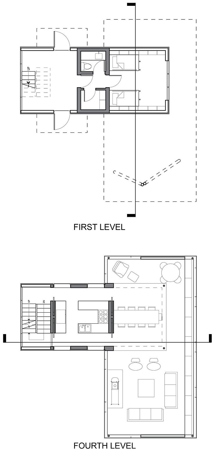 tower house by gluck homeadore