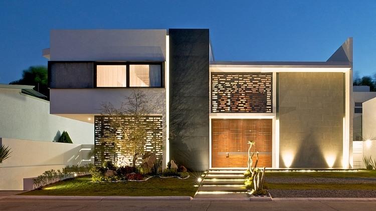 Casa q by agraz arquitectos homeadore - Casas bonitas y modernas ...