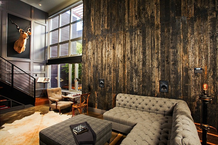 Industrial Retro Interior Design « HomeAdore