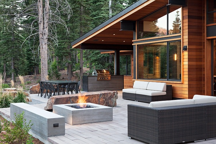Martis Camp House by Concreteworks « HomeAdore