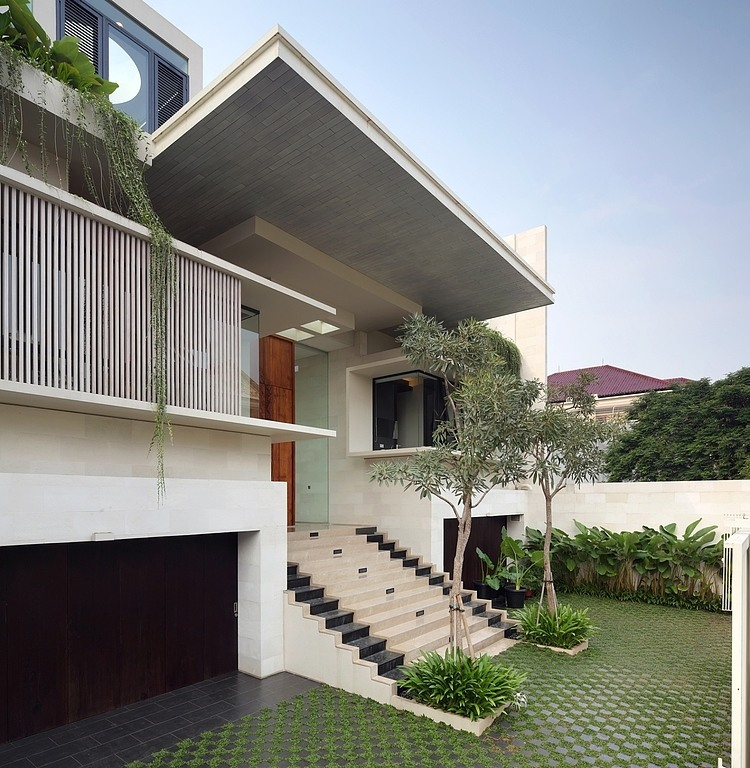 House in Jakarta by TWS & Partners « HomeAdore