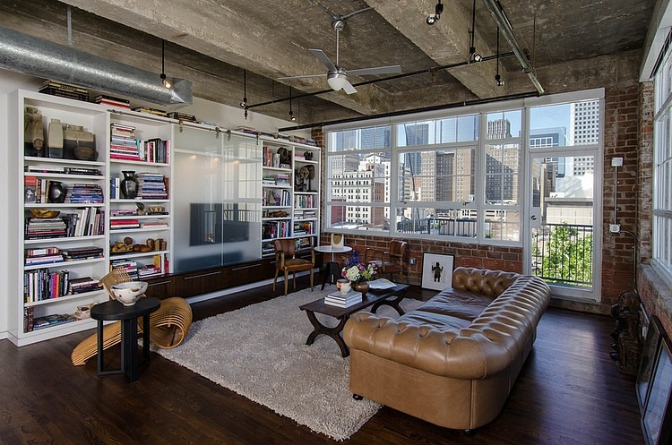 Houston Loft by C O N T E N T Architecture