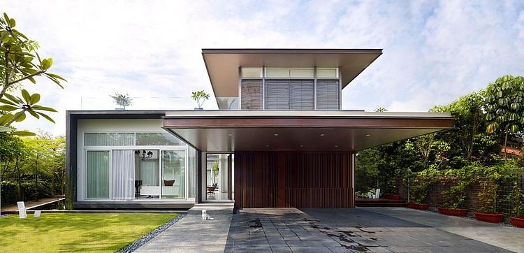 Studio House Design sunset housetopos design studio | homeadore
