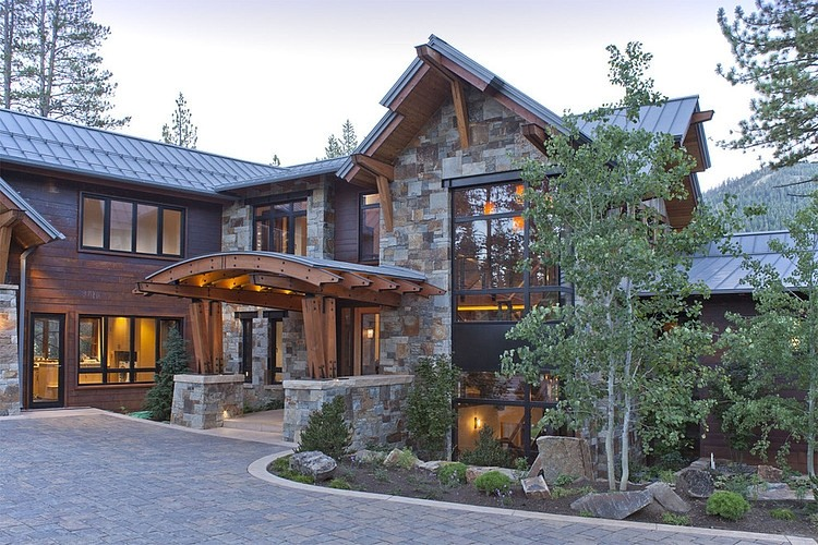 awesome tahoe architects #2: North Lake Tahoe Residence by Kelly u0026 Stone Architects