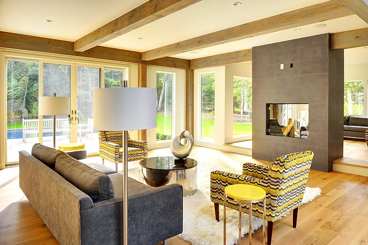 Contemporary Barn Home By Yankee Barn Homes