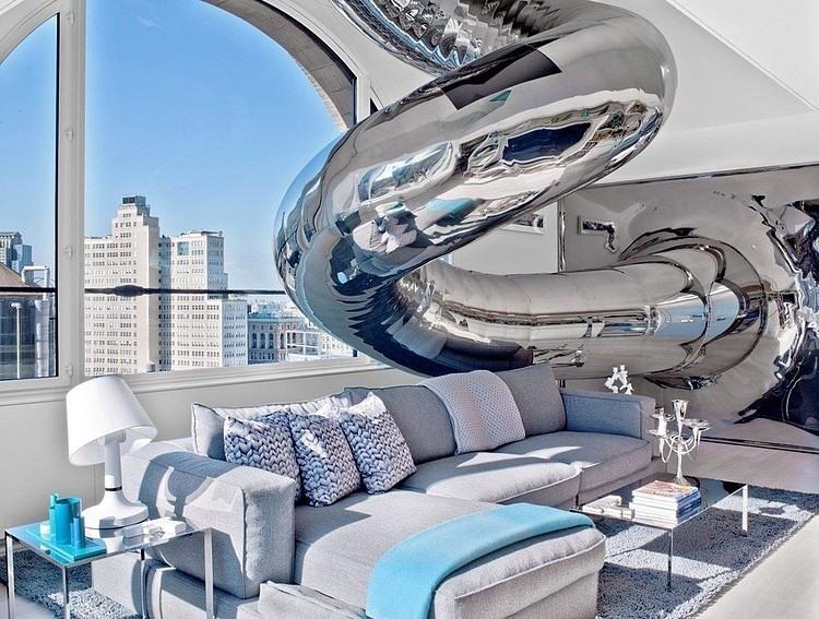 Superior SkyHouse By Ghislaine Viñas Interior Design