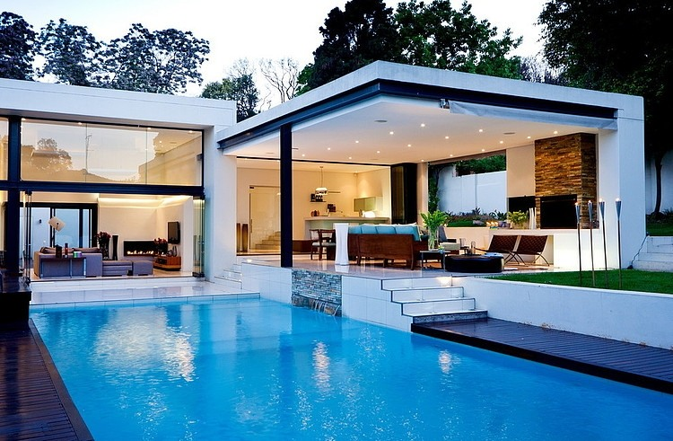 Modern Architecture House Wallpaper house mosinico van der meulen architects | homeadore