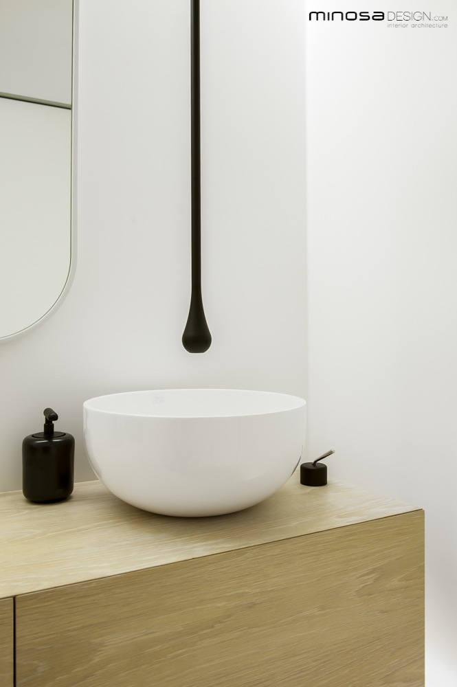 Unique Clean Simple lines create a stunning show piece Bathroom