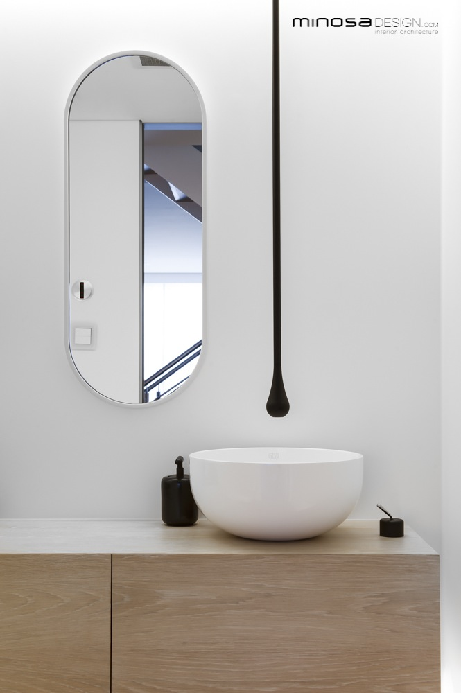 Clean simple lines create a stunning show piece bathroom for Bathroom planner australia