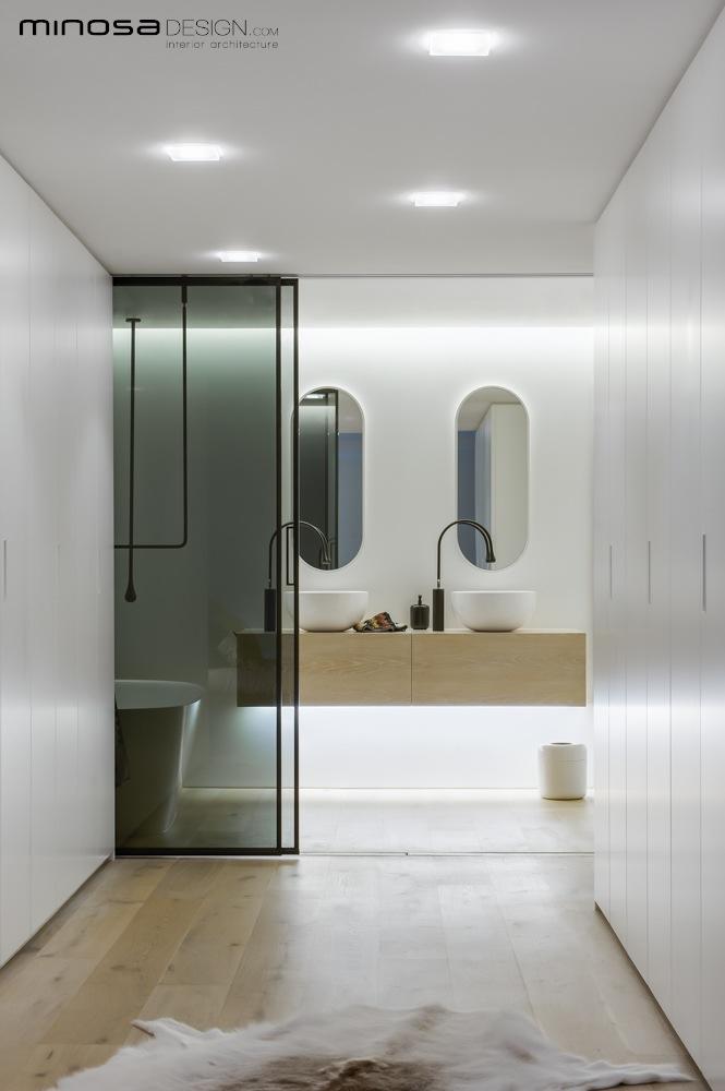 Clean Simple Lines Create A Stunning Show Piece Bathroom HomeAdore - Modern bathroom store