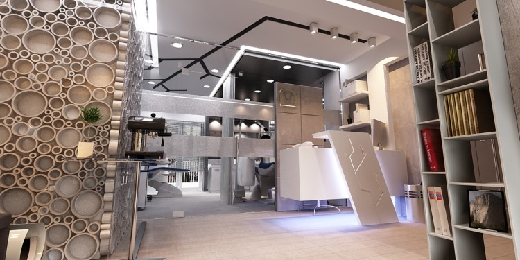 Dental clinic by Pap.os design studio