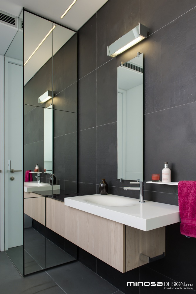 Narrow bathrooms can be effective homeadore Modern australian bathroom design