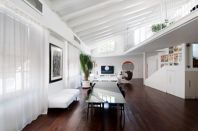 modern loftpaolo frello & partners | homeadore