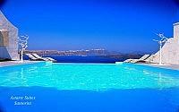 Astarte Suites Hotel  Infinity Pool3