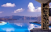 Astarte Suites Hotel - Infinity pool - Santorini Greece