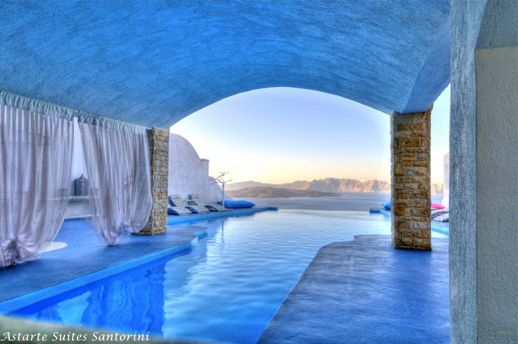 Astarte Suites Hotel in Santorini, Greece