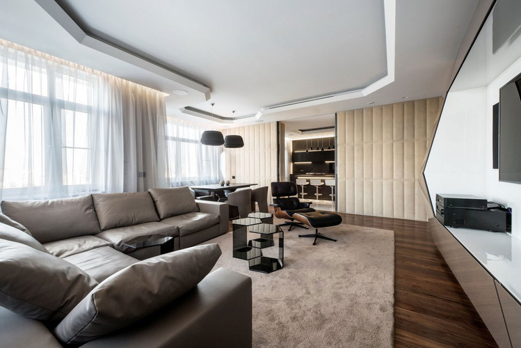 Dominion Apartment by Geometrix Design