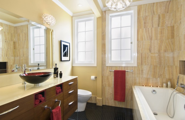 Contemporary Bathrooms by Adeeni Design Group