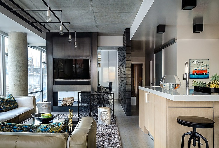 Exceptional Concrete Jungle By PROjECT. Interiors + Aimee Wertepny