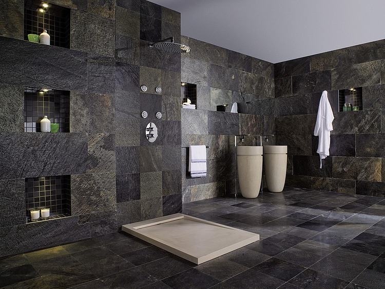 amazing bathrooms by porcelanosa usa - Bathroom Designs Usa