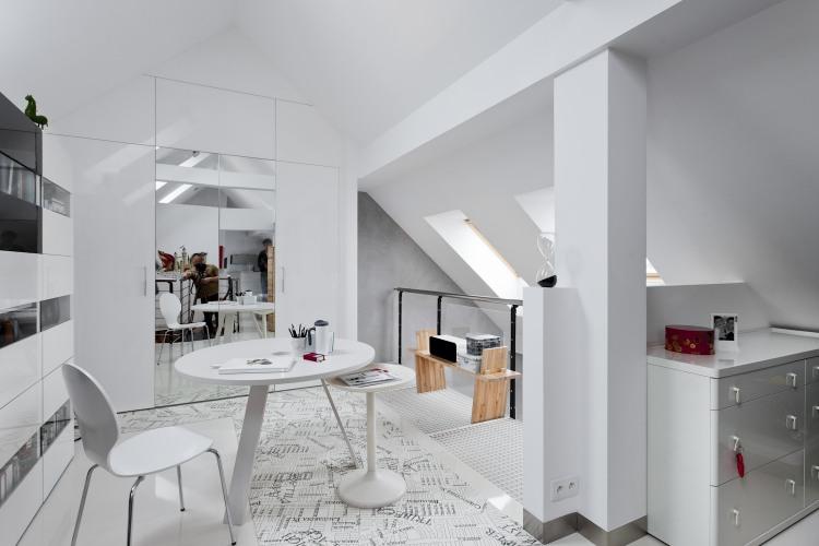 CONDO /_\\ Attic Space by KASIA ORWAT home design « HomeAdore