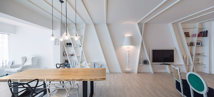 Apartment in Bucharest by I Love Colours Studio