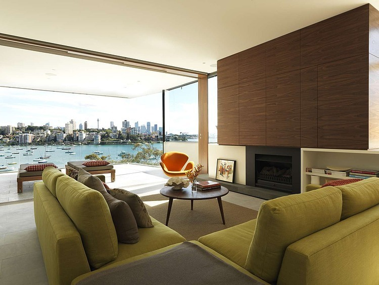Harbourside Apartment by Andrew Burges Architects