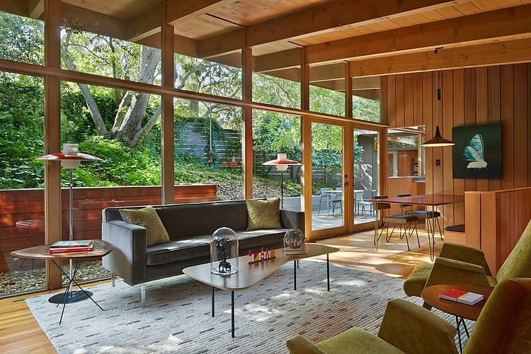 Mid Century Home Design. Mid Century Modern Renovation by Koch Architects  HomeAdore