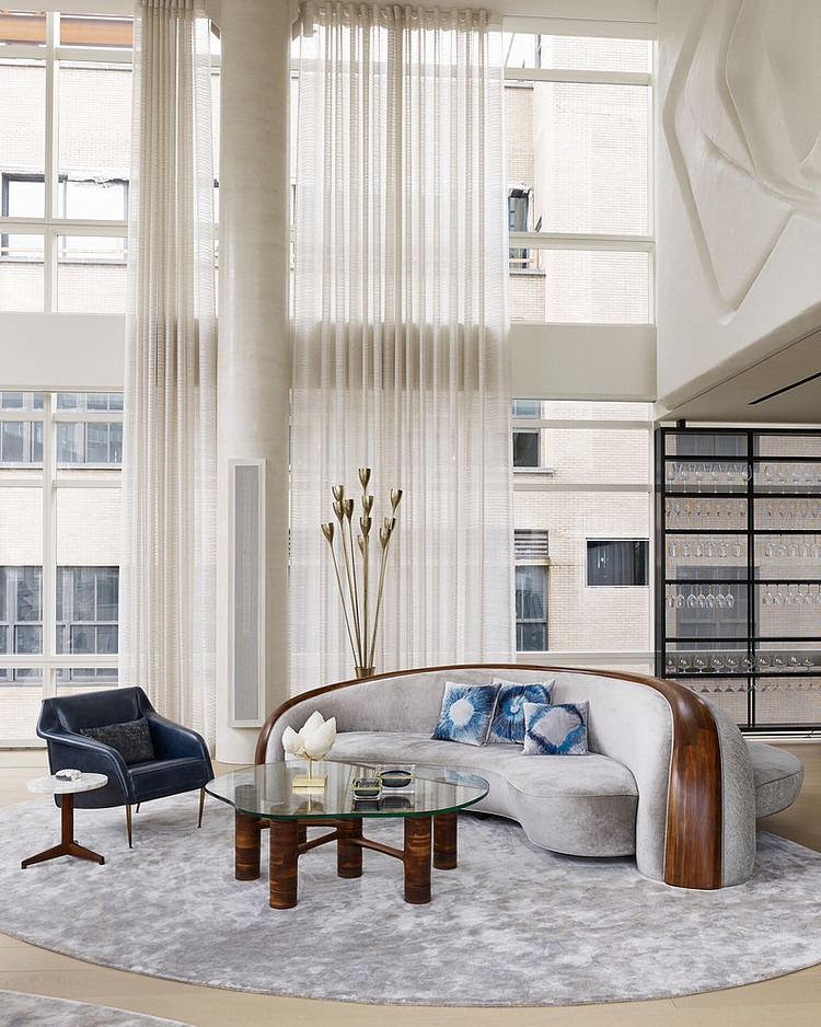 Tribeca Triplex by Amy Lau Design