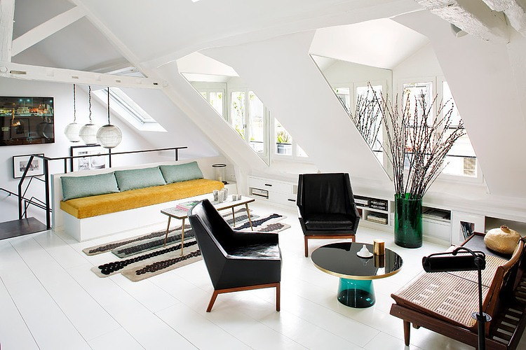 Duplex in Paris by Sarah Lavoine