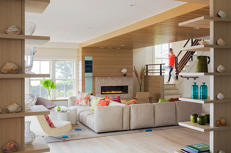 Beach House by Andra Birkerts Design