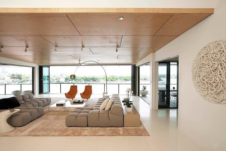 Norman Park Penthouse By DCruz Design Group