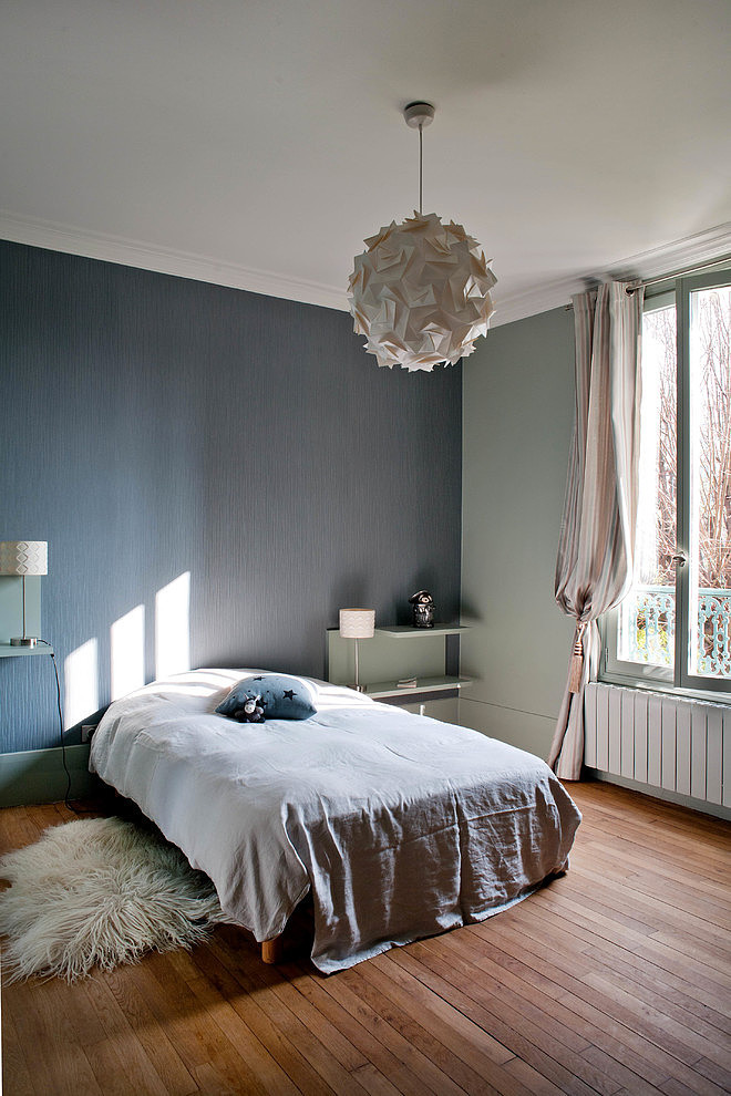 bois colombes home by olivier chabaud architecte homeadore. Black Bedroom Furniture Sets. Home Design Ideas