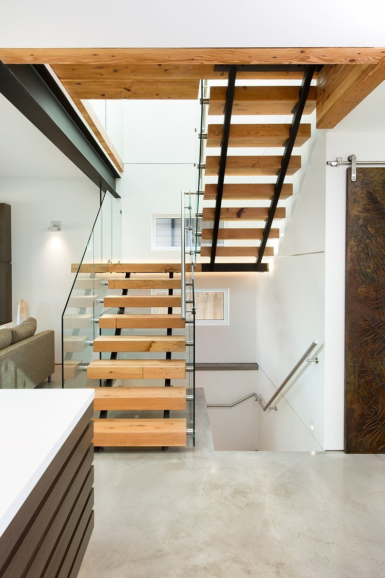 Ultra Green Modern House Design With Japanese Vibe In Vancouver: Midori Uchi By Naikoon Contracting & Kerschbaumer Design