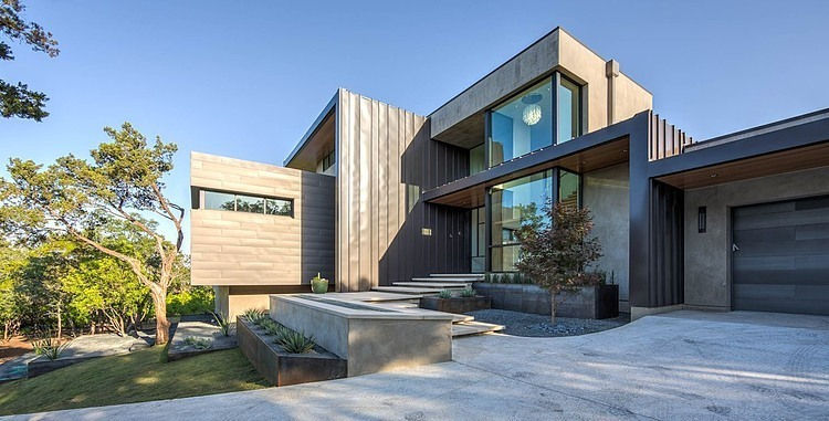Waterfall House by Dick Clark + Associates