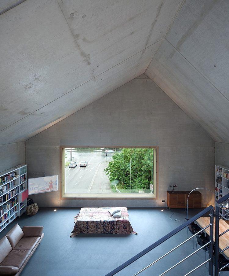 concret e by fabi architekten homeadore. Black Bedroom Furniture Sets. Home Design Ideas