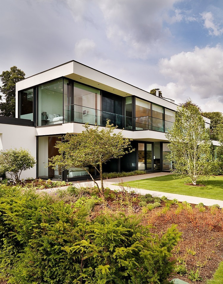 006 modern country house gregory phillips architects for Modern country house